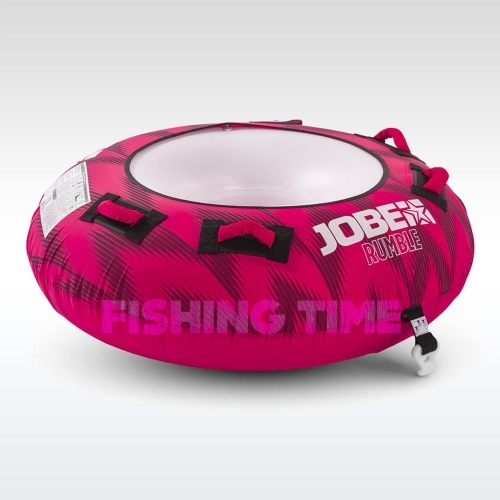 Jobe Rumble Towable 1P Hot Pink 1 személyes tube fánk