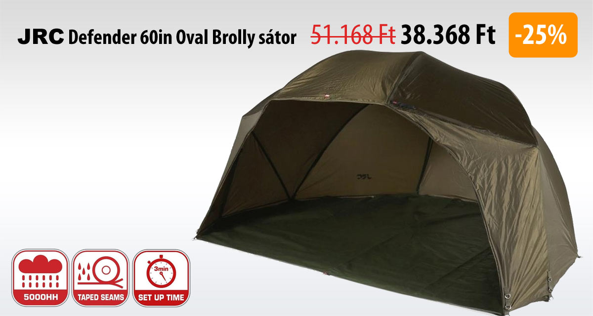 JRC Defender 60in Oval Brolly sátor