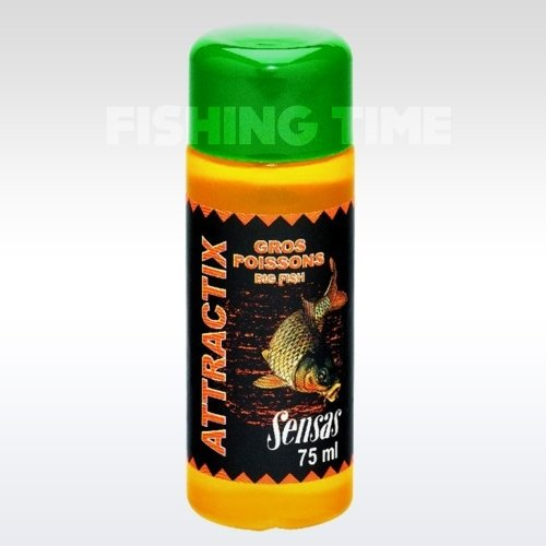 Sensas Attractix Carp and big fish 75ML