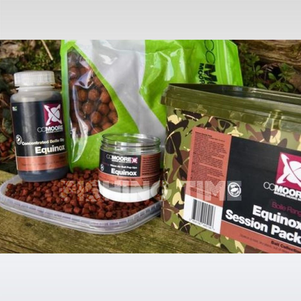 CCMoore EQUINOX SESSION PACK - 1kg 15mm bojli, 2kg pellet, 100ml dip, 20db 15mm pop-up