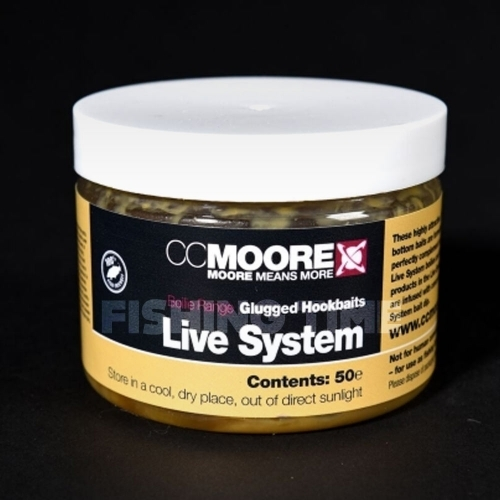 CCMoore LIVE SYSTEM GLUGGED HOOKBAITS 10X14MM