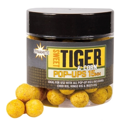 Dynamite Baits Sweet Tiger & Corn Pop-Ups csali
