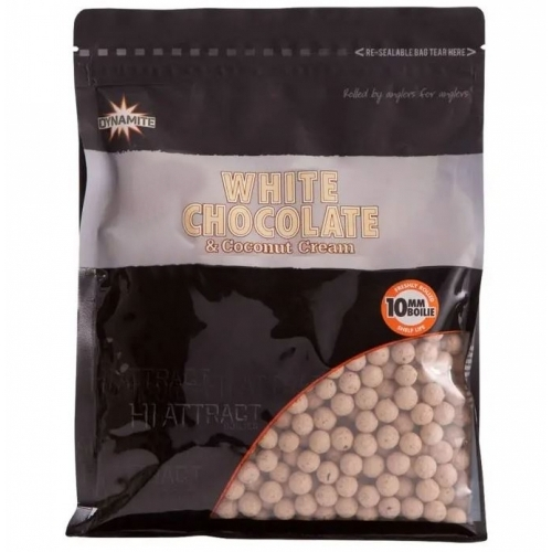Dynamite Baits White Chocolate & Coconut Cream bojli