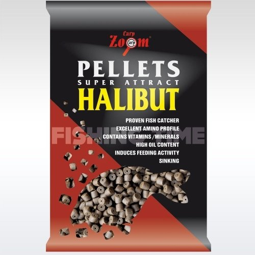 Carp Zoom Pre-drilled Halibut Pellets fúrt halibut pellet