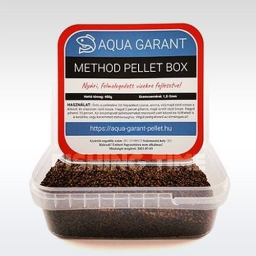 Aqua Garant Method Pellet Box nyári etetőpellet