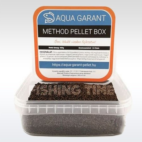 Aqua Garant Method Pellet Box őszi etetőpellet
