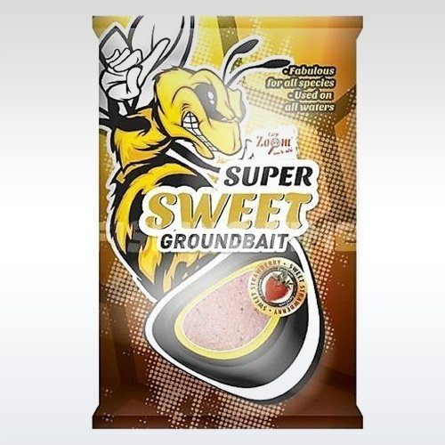 Carp Zoom Super Sweet groundbait etetőanyag