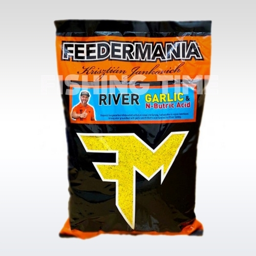 FeederMania RIVER GARLIC & N-BUTRIC ACID - etetőanyag (2.5kg)