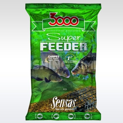 Sensas 3000 Super Feeder River 1kg