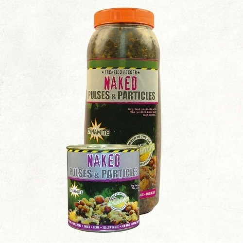 Dynamite Baits Frenzied Feeder Naked Pulses & Particles, magmix 2.5L