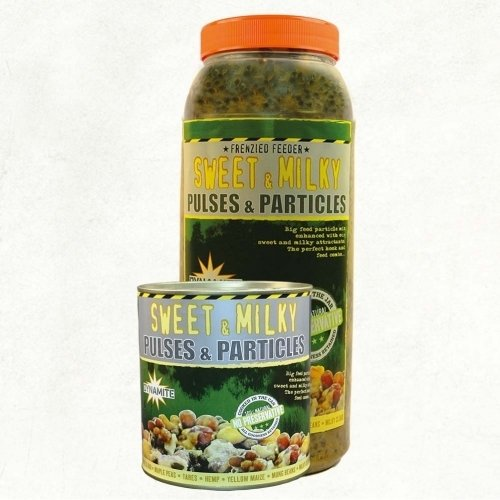 Dynamite Baits Frenzied Feeder Sweet & Milky Pulses & Particles, magmix 2.5L