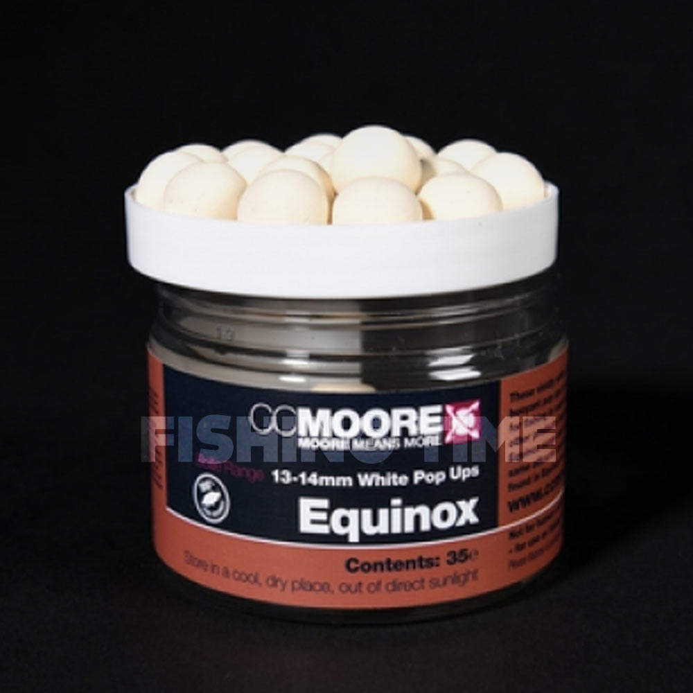CCMoore EQUINOX WHITE POP UPS 13/14MM