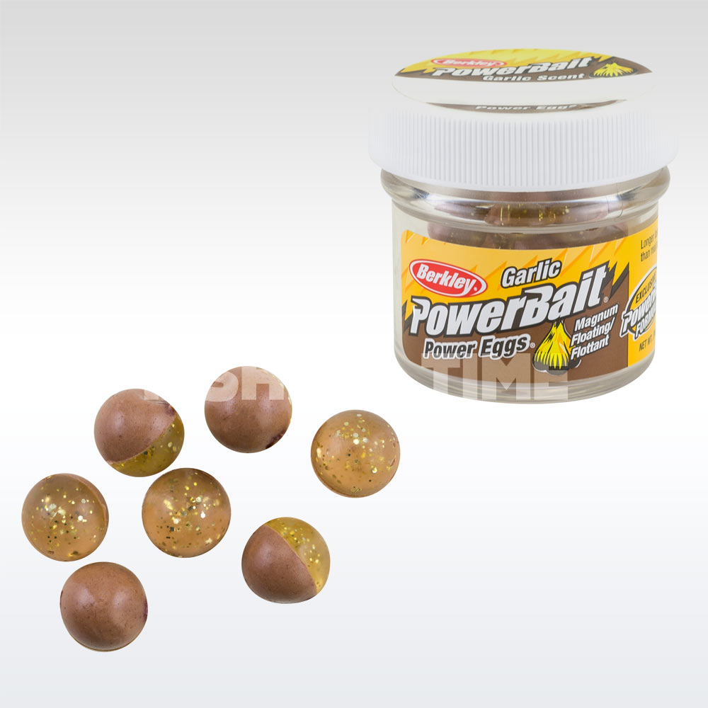 PowerBait Power Clear Eggs Floating Garlic