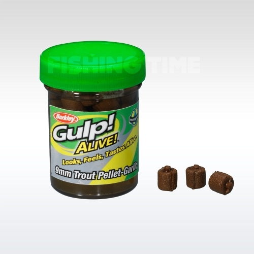 Berkley Gulp! Alive Trout Pellet Halibout - Natural