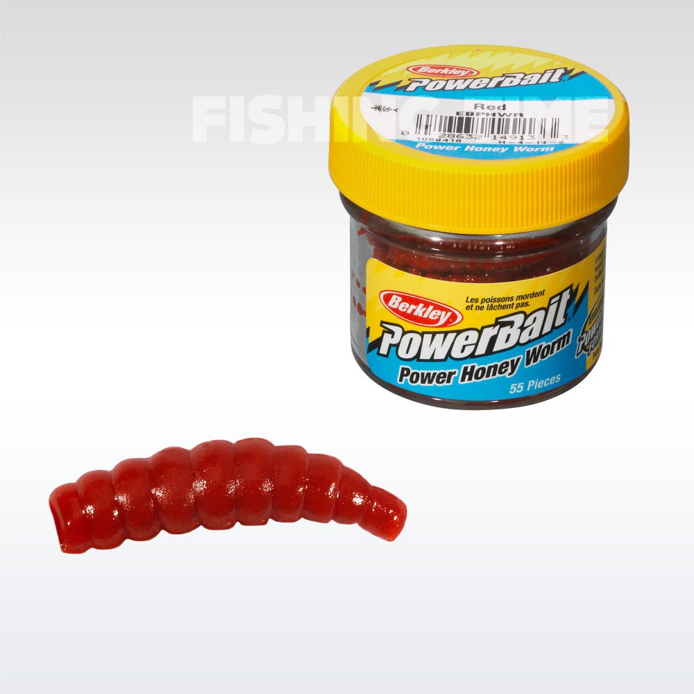 Berkley Powerbait Honey Worms lárvaimitáció