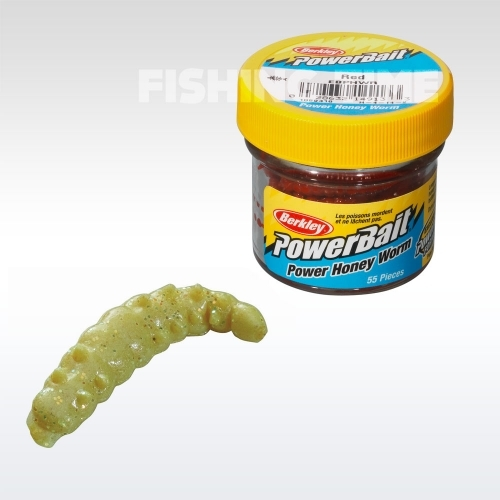 Berkley Powerbait Honey Worms lárvaimitáció YellowScales