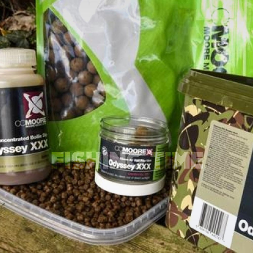 CCMoore ODYSSEY XXX SESSION PACK - 1kg 15mm bojli, 2kg pellet, 100ml dip, 20db 15mm pop-up