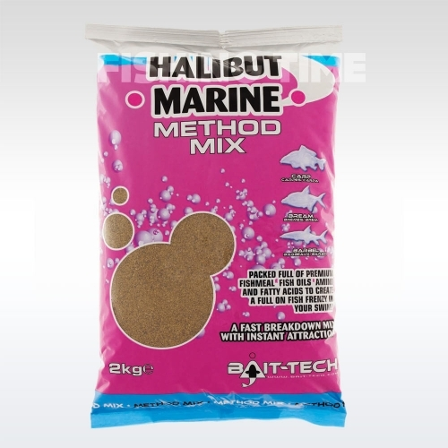 Bait-Tech Halibut Marine Method Mix etetőanyag