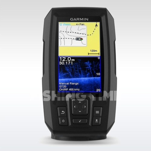 Garmin STRIKER PLUS 4CV - halradar
