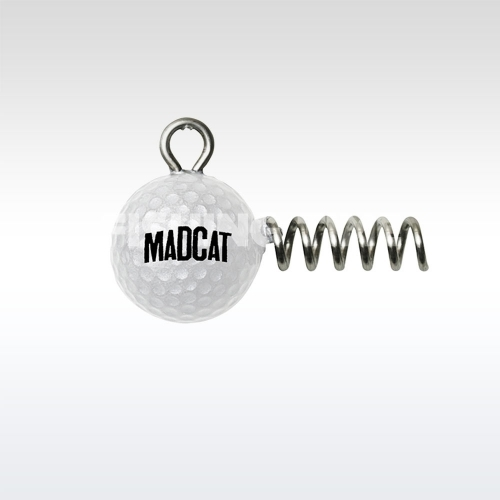 Mad Cat Golf Ball Screw-In Jighead betekerős harcsázó jigfej