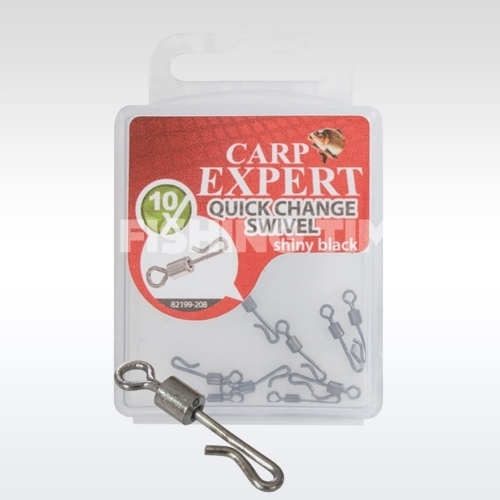 Carp Expert Quick Change Swivel Matt
