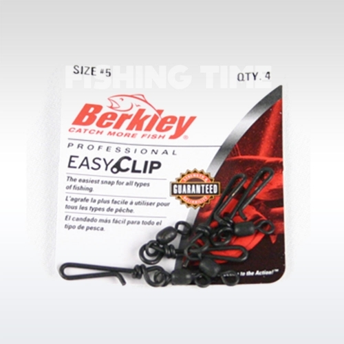 Berkley McMahon Easy clip snaps/swivels forgós gyorskapocs
