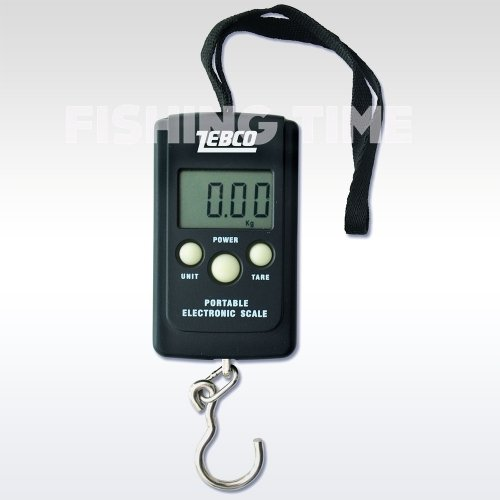 Zebco Digital Pocket -  mérleg (0-40kg)