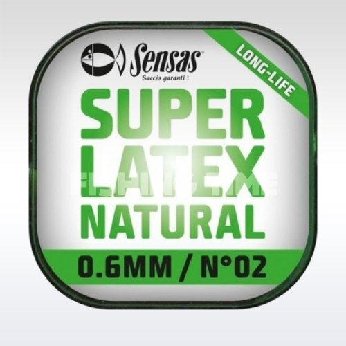 Sensas Super Latex Natural Rakós gumi