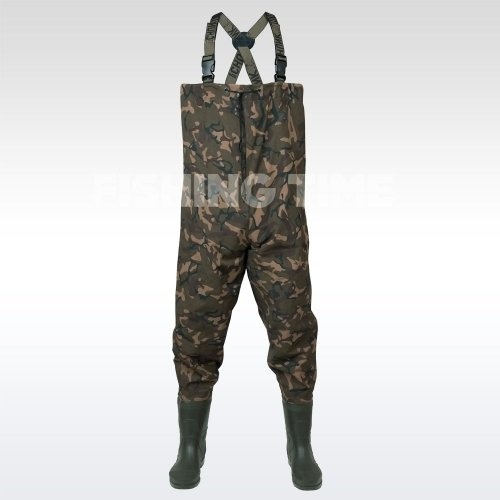 Fox Chunk Camo Lightweight Waders Mellescsizma