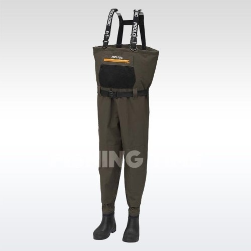 Prologic LitePro Breathable Wader w/EVA Boot Cleated mellescsizma