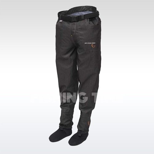 Savage Gear #SAVAGE Denim Waist Waders w/Stocking Foot gázlónadrág