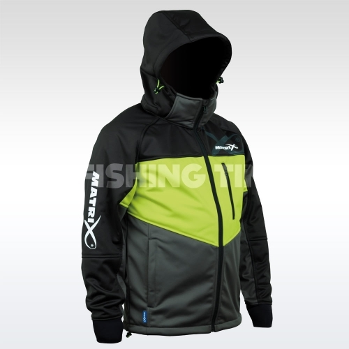 Matrix Wind Blocker Fleece Kabát