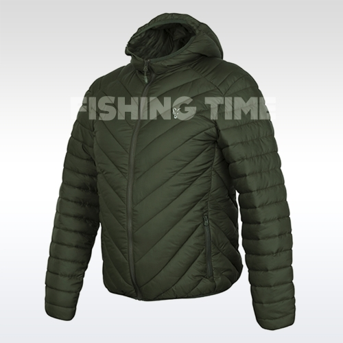 Fox COLLECTION QUILTED JACKET GREEN/SILVER - dzseki (több méretben)