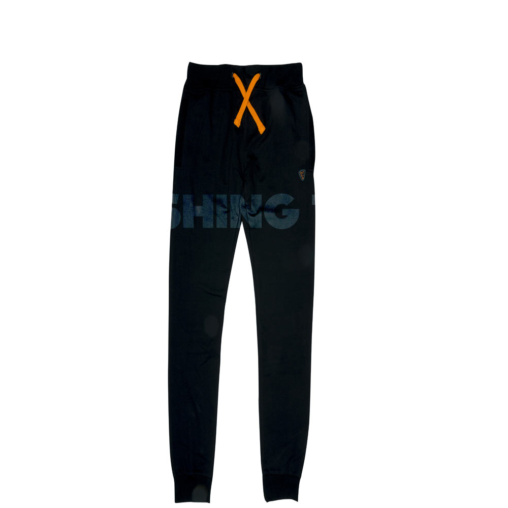 Fox Black / Orange Joggers