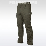 Fox Green & Silver Combat TROUSERS - nadrág
