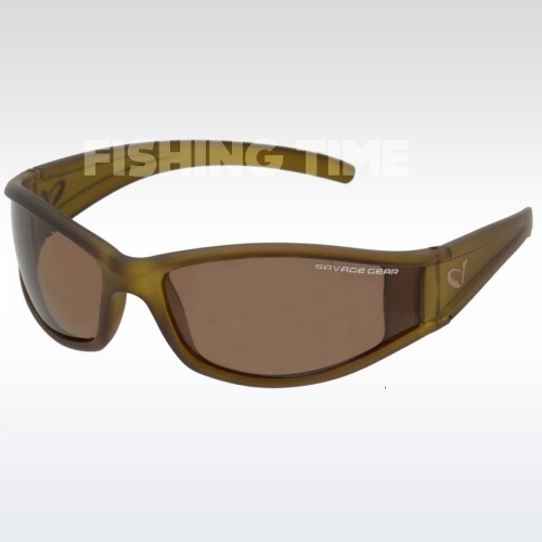 Savage Gear Slim Shades Floating Polarized Sunglasses - Amber lebegő napszemüveg