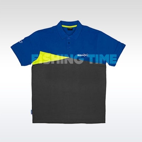 Matrix Póló Shirt Blue/ Grey