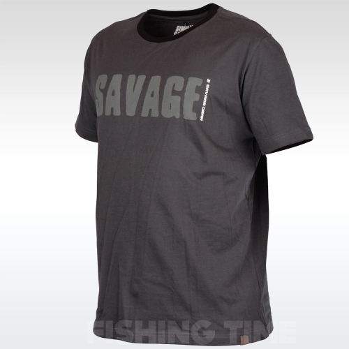 Savage Gear Simply Savage Tee Grey póló