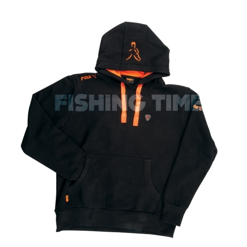 Fox Black / Orange Hoodie