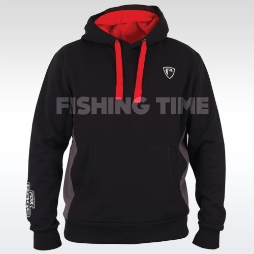 Fox Rage Black / Grey Ribbed Hoody