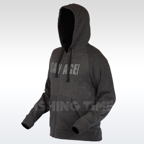 Savage Gear Simply Savage Zip Hoodie kapucnis pulóver