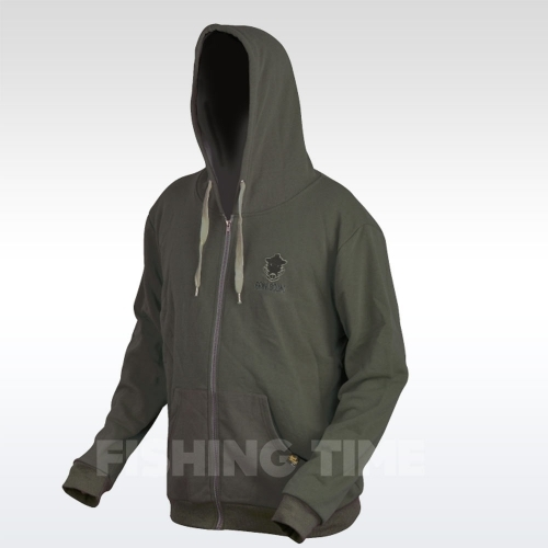 Prologic Bank Bound Zip Hoodie Green pulóver