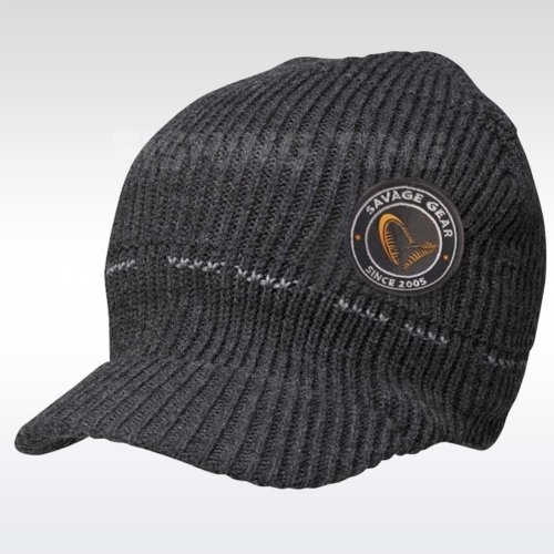 Savage Gear Simply Savage Knitted Beanie with Brim sapka