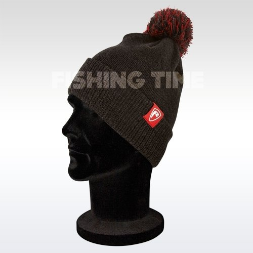 Fox Rage Grey Bobble HATS - téli sapka