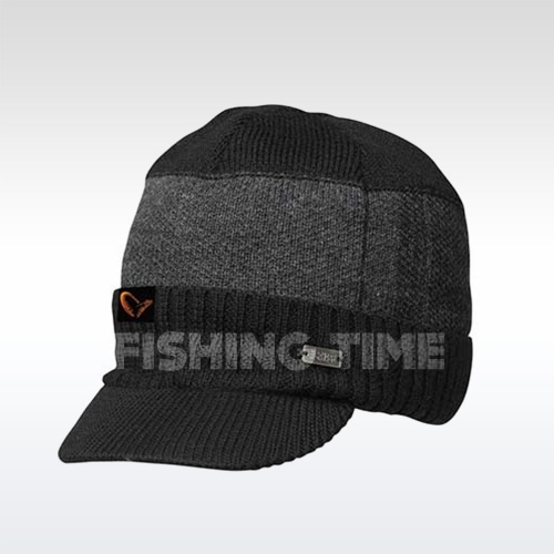 Savage Gear #SAVAGE Knitted Beanie w/Brim sapka