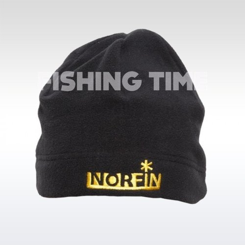 Norfin Fleece Black Hat téli sapka