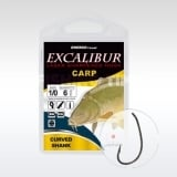 Excalibur Carp Curved Shank