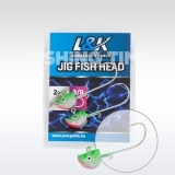 L&K FISH HEAD - jig fej