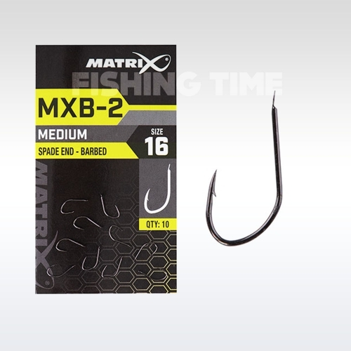 Matrix MXB-2 Barbed Spade End (Black Nickel) - szakállas horog