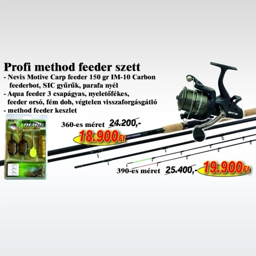 Nevis Pfofi Method Feeder Szett